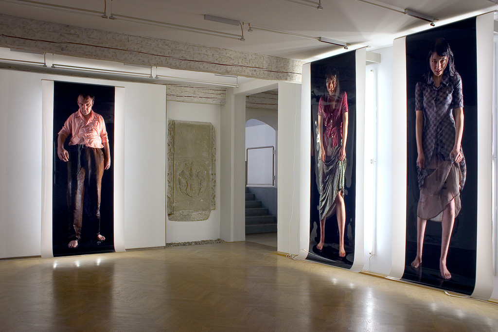 Sylvie Zijlmans - 2007 - Galerie der Stadt Backnang - The Visitor 008