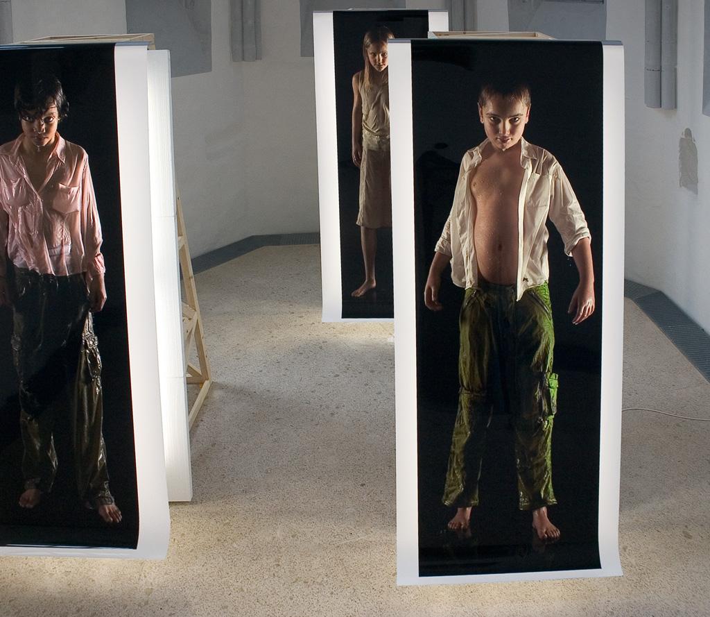 Sylvie Zijlmans - 2007 - Galerie der Stadt Backnang - The Visitor 001