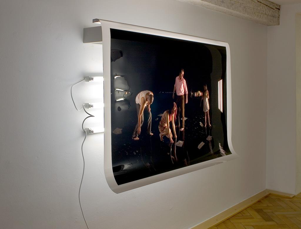 Sylvie Zijlmans - 2007 - Galerie der Stadt Backnang - The Visitor 002