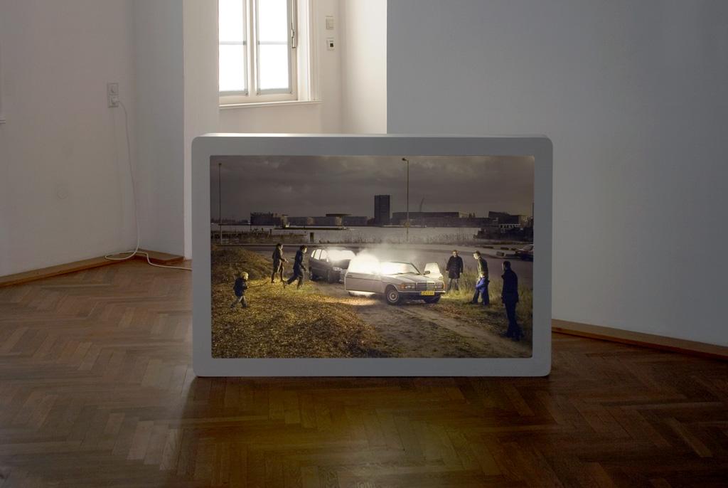 Sylvie Zijlmans - 2007 - Galerie der Stadt Backnang - The Visitor 003