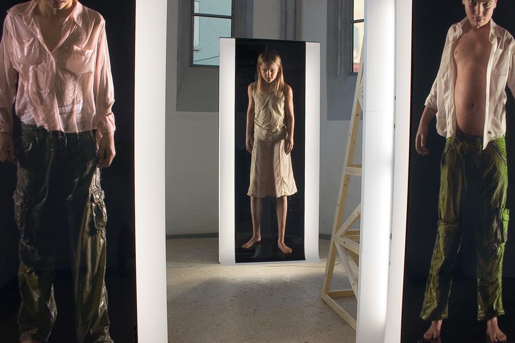 Sylvie Zijlmans - 2007 - Galerie der Stadt Backnang - The Visitor 005