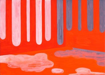 Hewald-Jongenelis - Kooi van Faraday - acryl, caseïne tempera, gouache & aquarel op doek - 1998